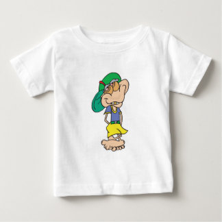 goofy geek troll baby T-Shirt