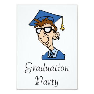Goofy Grad Boy Personalized Announcement