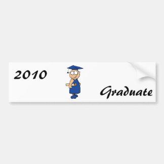 Goofy Grad Bumper Sticker