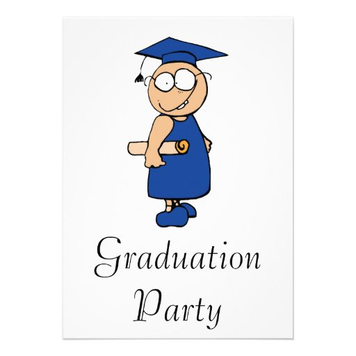 Goofy Grad Announcements