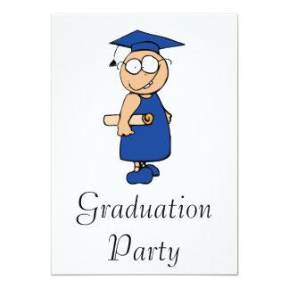 Goofy Grad 13 Cm X 18 Cm Invitation Card