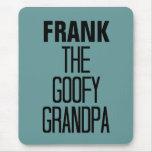 Goofy Grandpa Mouse Mat