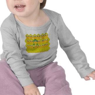 Goofy Green Duck Be Different T-shirt