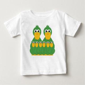 Goofy Green Ducks And 6 Babies Shirt