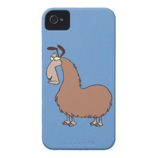 goofy llama cartoon iPhone 4 cover