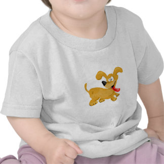 Goofy Puppy Cartoon Tshirt