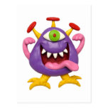 Goofy Purple Monster