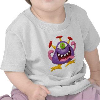 Goofy Purple Monster Tees