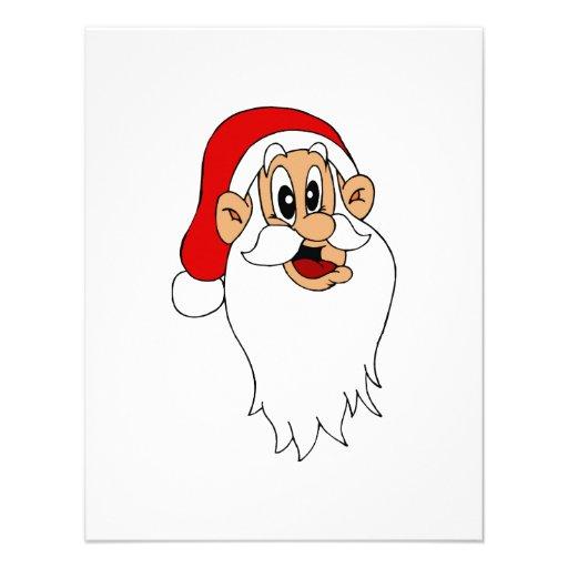 Goofy Santa Invitation