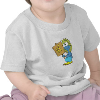 goofy silly monster saying hi shirt