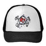 Goofy Skull Mesh Hats