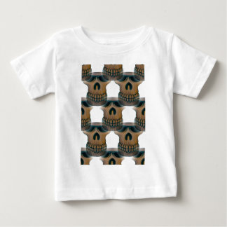Goofy Skull Pattern Baby T-Shirt