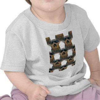 Goofy Skull Pattern Shirt