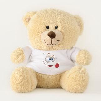 Goofy Smiling Face Teddy Bear