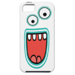 Goofy Smiling Googly Monster Face Case For The iPhone 5