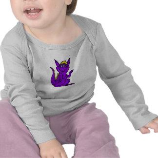 Goofy Which Way Purple Dragon T Shirt