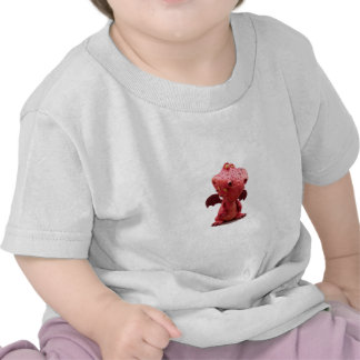 Goofy winged Red Dragon with crazy Smile T-shirts