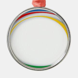 Google colors christmas ornament