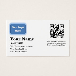 Google Maps Locator Business Card