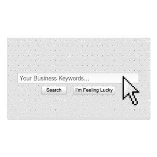 Google Me! Big Cursor Business Card