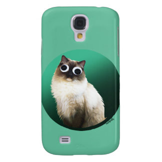 'Googly Cat' Galaxy S4 Case
