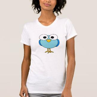 Googly Eyed Bird Womens T-Shirt
