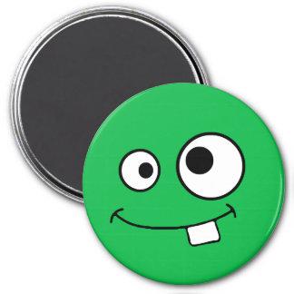 Googly Eyed Green Monster Magnet