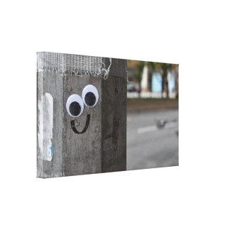 Googly Eyes Eyeballs New York City Photography NYC Canvas Print