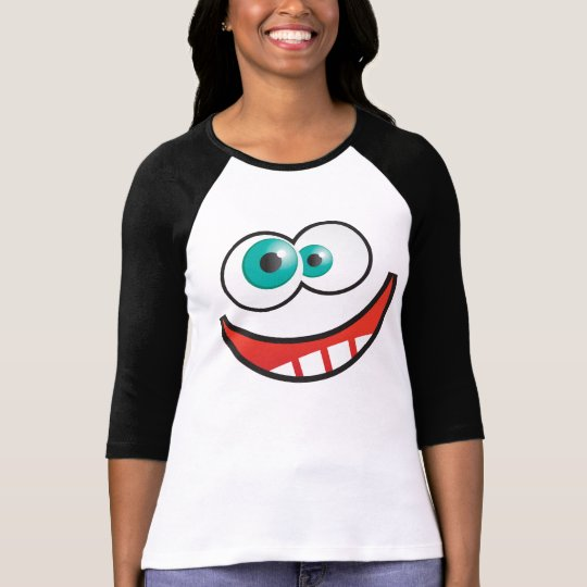 Googly Eyes Happy Face T-Shirt