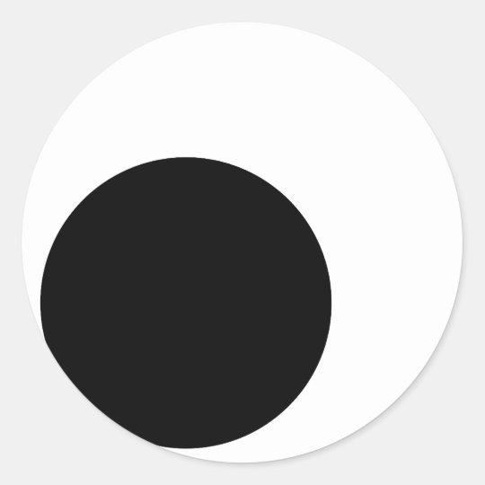 Googly Eyes (no border) Classic Round Sticker