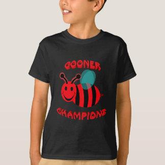 gooner bee champions T-Shirt