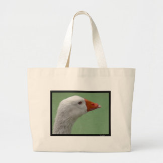 goose1 large tote bag
