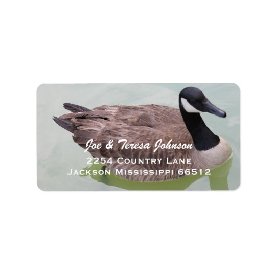 Goose Address Labels