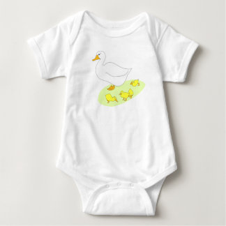 GOOSE AND GOSLINGS INFANT CREEPER SUIT