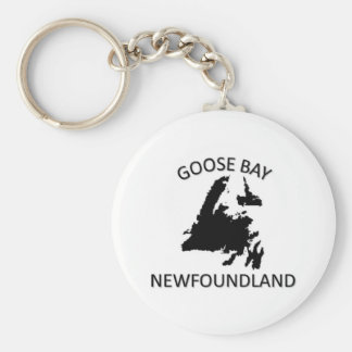 Goose Bay Key Ring