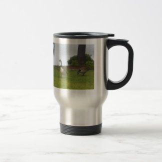 Goose Ceramic Travel Mug