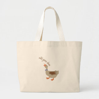 Goose Chase Canvas Bags