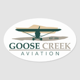 Goose Creek Aviation Sticker Decal