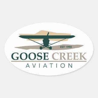 Goose Creek Aviation Sticker Decal