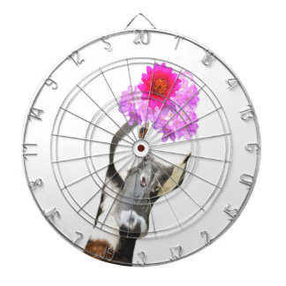 Goose cute funny adorable farm animal girl kids dart board