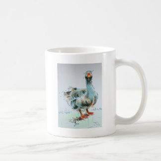 Goose Drawing Basic White Mug