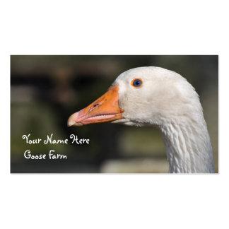 Goose farm business card
