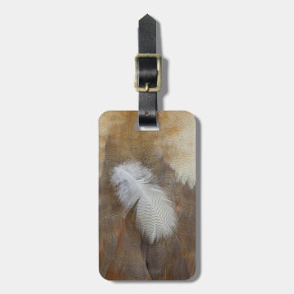 Goose Feather Still Life Luggage Tag