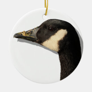Goose Head Christmas Ornament