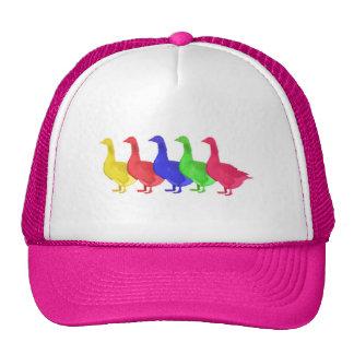 Goose in Five Colors Cap
