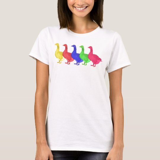 Goose in Five Colours T-Shirt