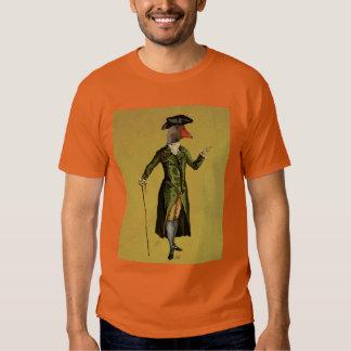 Goose in Green Regency Coat 3 Tshirts