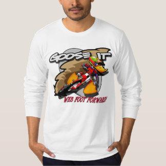 Goose It WEB FOOT FORWARD Long Sleeve T-Shirt
