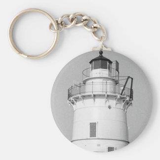 Goose Rocks Lighthouse Keychain