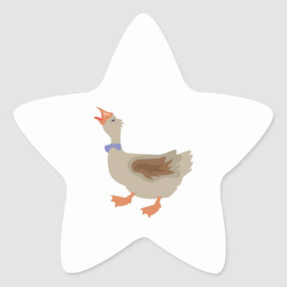Goose Star Sticker